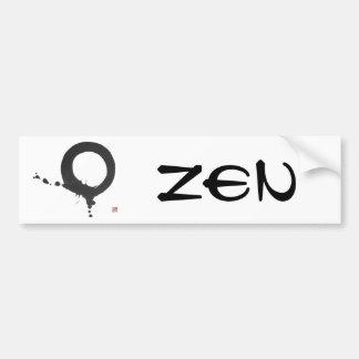 Kinetic Brush - Enso Bumper Sticker