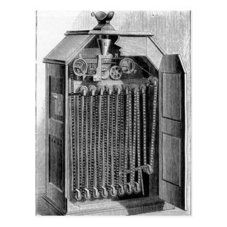 Kinetoscope Diagram Postcard