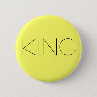 KING 6 CM ROUND BADGE