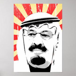 King Abdullah Posters