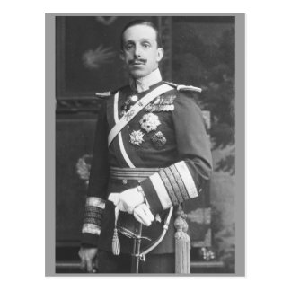 King Alfonso XIII of Spain Postcard
