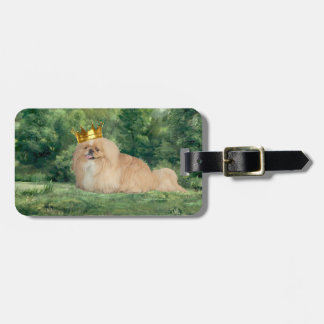 King and Castle Luggage Tag