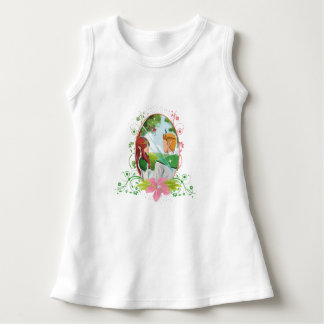 King and Queen Baby Sleeveless Dress
