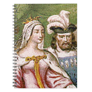 king and queen couple notebooks
