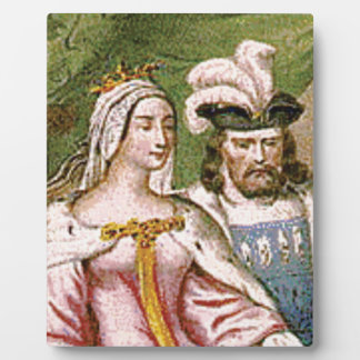 king and queen couple plaque