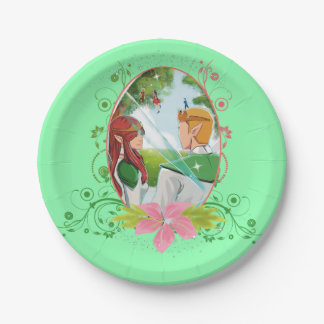 """King and Queen Custom Paper Plates 7"""""""