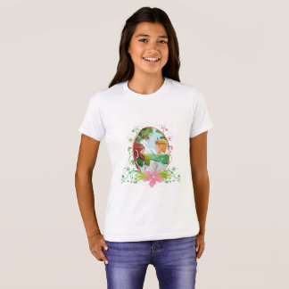 King and Queen Girls' Bella+Canvas Crew T-Shirt