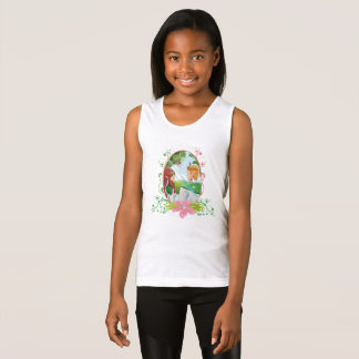 King and Queen Girls' Fine Jersey Tank Top