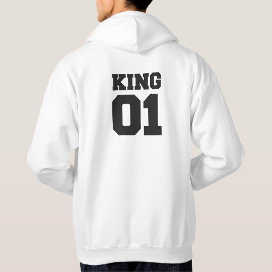 king and queen hoodies