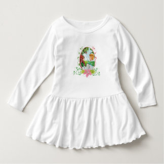 King and Queen Toddler Ruffle Dress