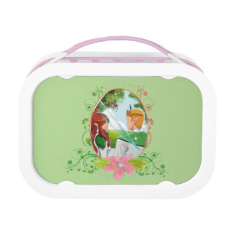 King and Queen Yubo Lunchbox, Pink Lunch Box