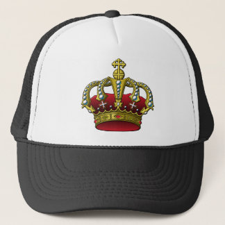 King and Queens Crown Trucker Hat