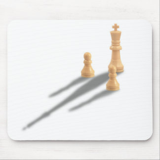 King and two Pawns Mouse Pad