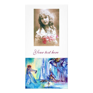KING ARTHUR ,LADY OF THE LAKE AND EXCALIBUR PERSONALISED PHOTO CARD