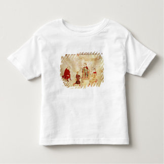 King Arthur on his Throne Surrounded T Shirts
