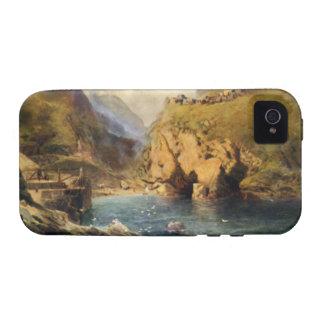 King Arthur's Castle, Off Tintagel Head iPhone 4/4S Covers