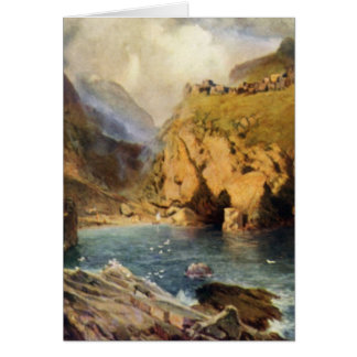 King Arthur's Castle in Camelot Greeting Card