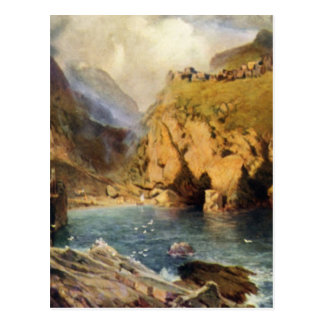 King Arthur's Castle in Camelot Postcard