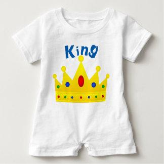 King, Baby Romper Baby Bodysuit