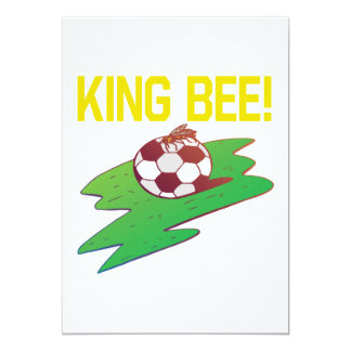 King Bee 13 Cm X 18 Cm Invitation Card