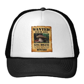 King Bolete - Wanted Dead or Alive Cap