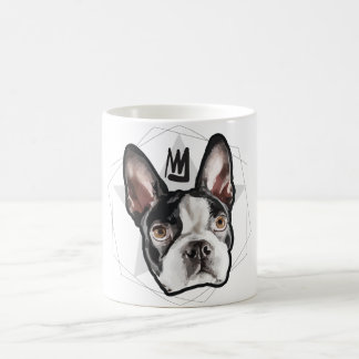 King Boston Terrier Coffee Mug