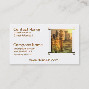 King Business Card