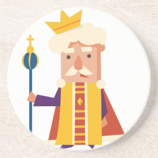 King Cartoon character Coaster