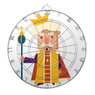 King Cartoon character Dartboard
