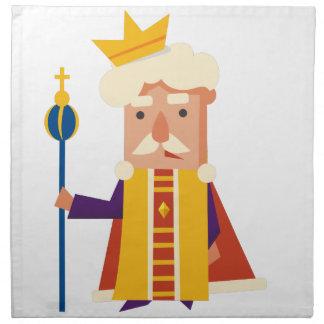 King Cartoon character Napkin