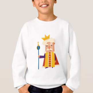 King Cartoon character Sweatshirt