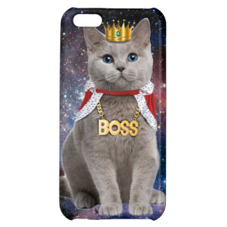 king cat in the space iPhone 5C case
