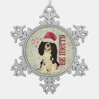 King Cavalier Be Merry Ornament