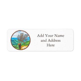 King Cervus Return Address Label