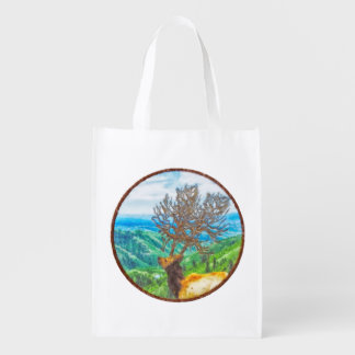 King Cervus Reusable Grocery Bag