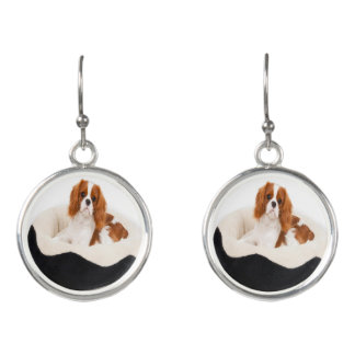 King Charles Cavalier Spaniel Earrings