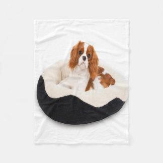 King Charles Cavalier Spaniel Fleece Blanket