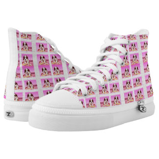 King Charles Cavalier Spaniel High Tops