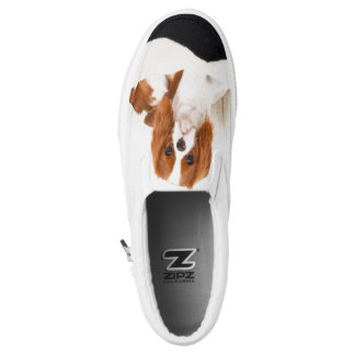 King Charles Cavalier Spaniel Slip On Shoes