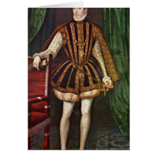 King Charles Ix. France By Francois Clouet Greeting Card