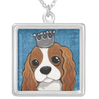King Charles Spaniel   Dog Art Pendant