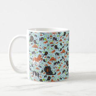King Charles Spaniel Mug, Blue Coffee Mug