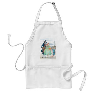 King Charless II & Nell Gywn Standard Apron