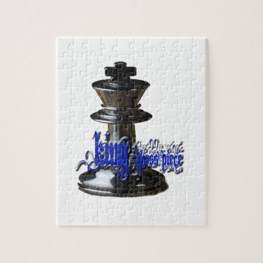 King Chess Piece Jigsaw Puzzle