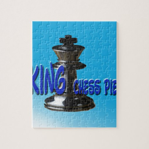 King Chess Piece With Background Puzzles