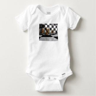 King Chess Play Baby Onesie