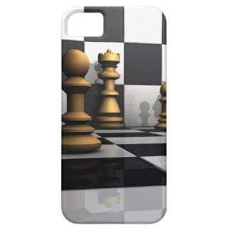 King Chess Play Barely There iPhone 5 Case