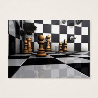 King Chess Play Business Card