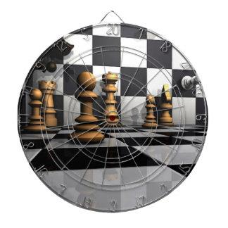 King Chess Play Dartboard