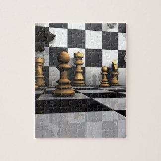 King Chess Play Jigsaw Puzzle